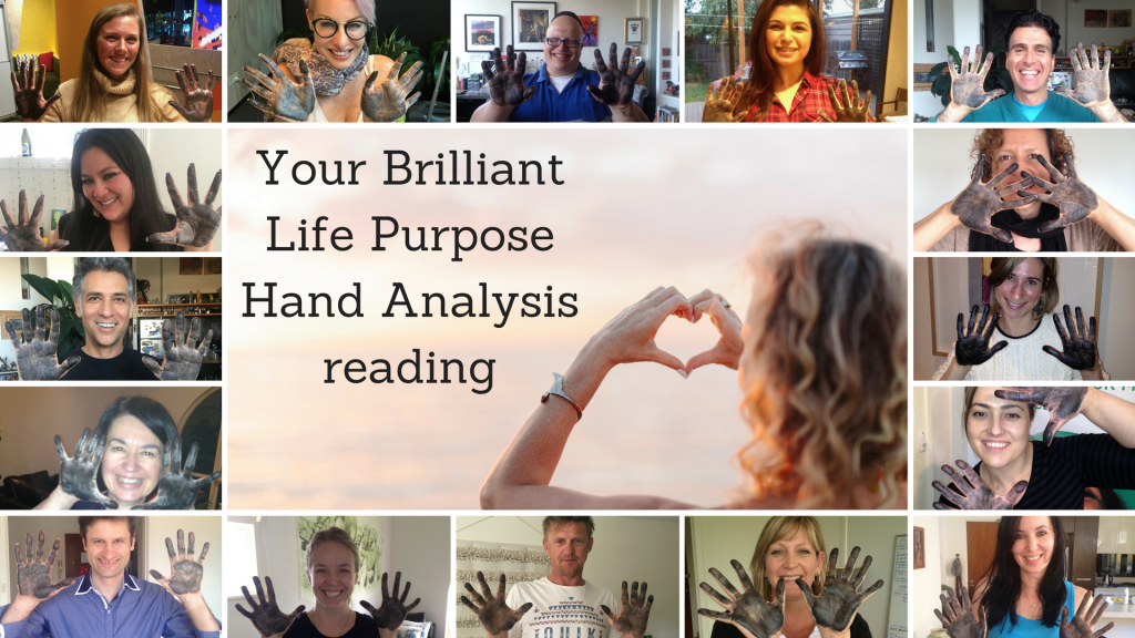 Your Brilliant Life Purpose hand Analysis reading