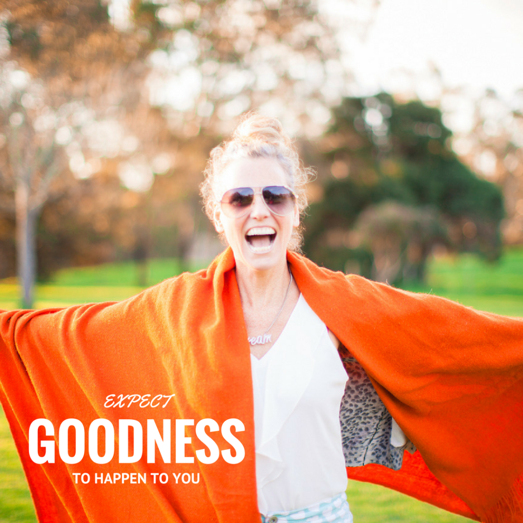 Your productivity will increase when you expect goodness to happen