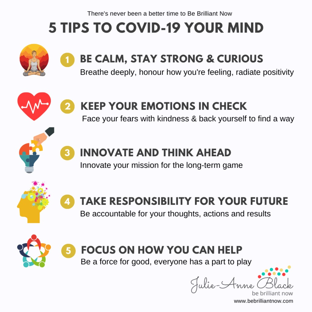 5 tips to covid-19 your mind